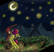 We will see the stars together by Ribbedebie