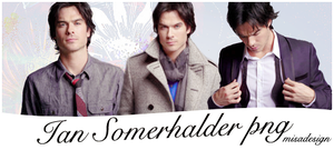 Ian Somerhalder PNG pack by MISA0710