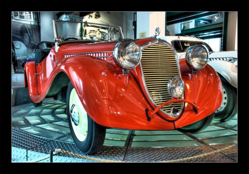 Red Car by Mark-Pawl