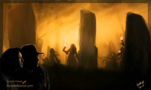 Standing Stones by Kath-13