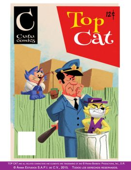 Top Cat old comic book by eL-HiNO