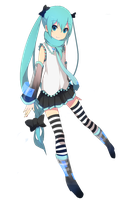 Render MIKU K-on Style by kittyprincess08