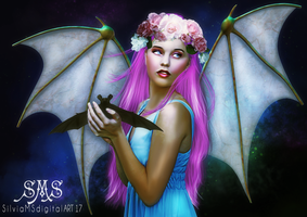 Bat's Queen by SilviaMS