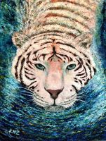 White Tiger Cool Water by znkf0908
