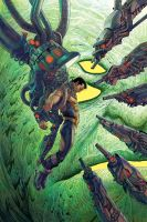 All New Invaders #3 Cover by Nisachar
