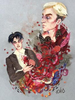 Where the heart used to be (eruri) by sassynails