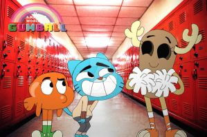The Amazing World of Gumball by vaness96