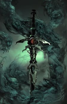 Back view of The Lord of Death cover by TatarskiSkandal