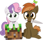 Sweetie and Button by MacTavish1996 by MacTavish1996