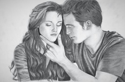 I'm all yours - Edward and Bella by paletan