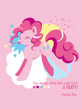 pinkie pie by boxdrink