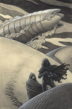 Charcoal Dune Cover by TheFool432