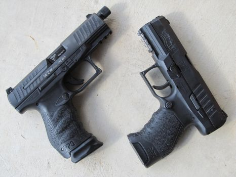 Walther PPQ M2 Navy Vs Walther PPX by Xanionot