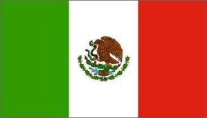 Mexican Flag by Raza-Unida