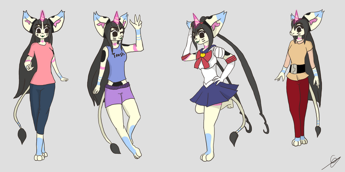 Teejay Poses by Teejay-and-Wei