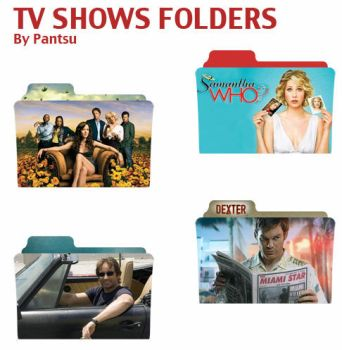 Tv Shows Folders Pack One by Cyrus-Pinkney