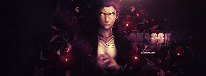 Mikoto Suoh The Red King Cover by GodspeedK