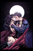 Superman and Wonder Woman by DEADNEMO