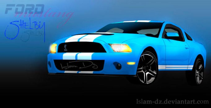 Ford mustang-GT500 by islam-dz