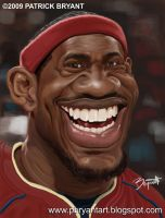 Lebron James (Cavs 2009) by PatrickBryant