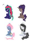 MS paint ponies - 10 points each- -CLOSED- by Rainbow-Fluffy