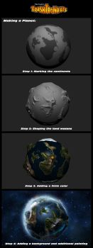 Planet Creation for Trashtronauts by toddworld
