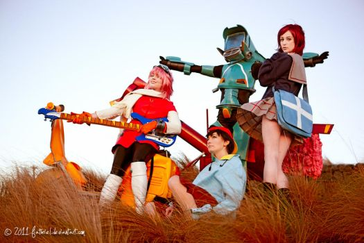 FLCL by fiathriel