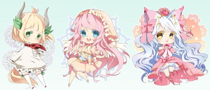 Chibi commission batch09 by inma