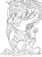 Apollo and Daphne by panchan14