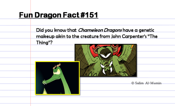 Chameleon Facts by TheUnisonReturns