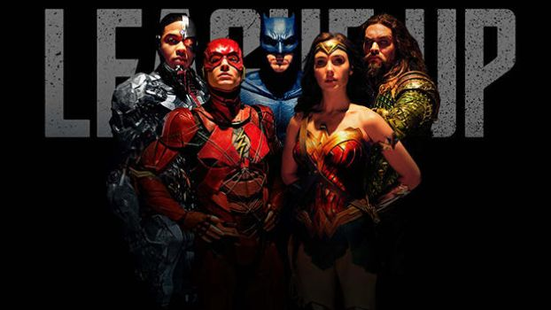 Full New Justice League Banner Poster by Artlover67