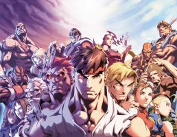 Street Fighter II 6 Cover by UdonCrew
