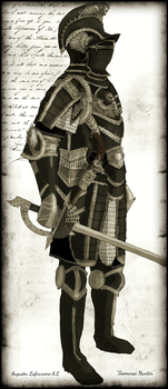 16th century Black and White Plate Armor. by Taurus-ChaosLord