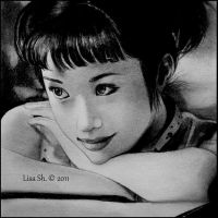Japanese Doll. Aya ueto. by Lisa-Of-The-Moon