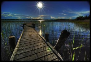 Old Jetty by Peterspics