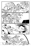 Fantomex MAX, Issue 4, page 13 by Inkpulp