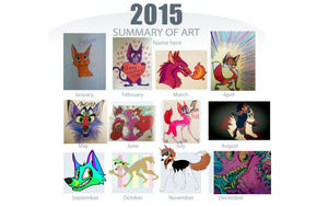 2015 art summary by MartyMcFIy