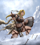 Gaul Warrior by KryzzX3