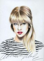 Taylor Swift - Red by aleexart