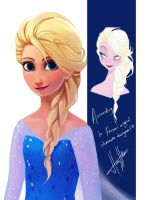Elsa's New Hairdo... by ziqman
