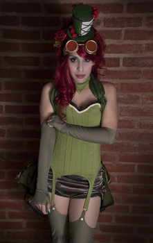 Poison Ivy - The Kiss of a Poisonous Flower by shamblesofhearts