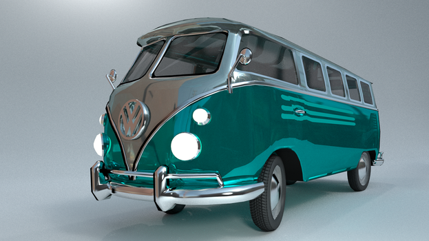 Volkswagen Bus T1 by BeataWa