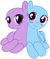 My Little Pony Base #13 [Cute Couple] by DrugzRbad