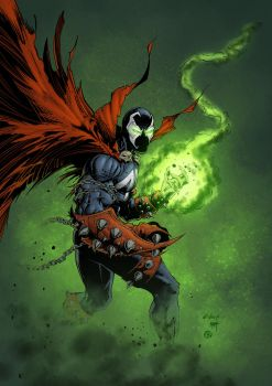 Spawn - colors by ZethKeeper