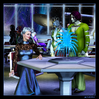 Lady Amanda at Starbase 5 by mylochka