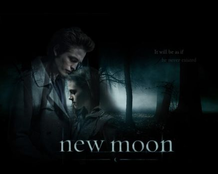 :NEW MOON: fanmade poster by annaGOESpanasonic