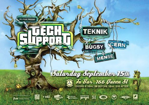 TechSupport Poster - Sep.07 by Crittz
