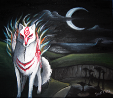 Shiranui painting by master-niila
