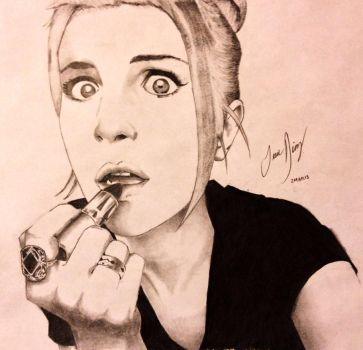 Hayley Williams by Theonejesse