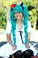Let's call it a cute mistake (Hatsune Miku Cosplay by Naru-Langley